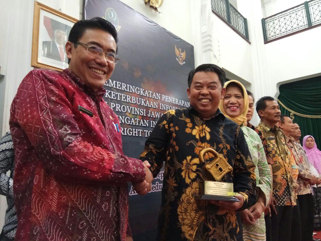 Acara Pemeringkatan Penerapan Keterbukaan Informasi Publik tingkat Provinsi Jawa Barat