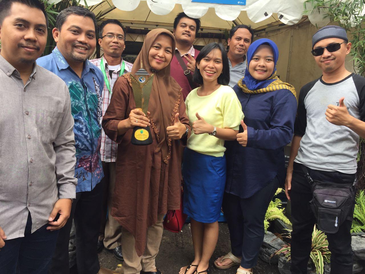 Diskominfo Kabupaten Bogor Sabet Penghargaan Terbaik Pameran TIK di HUT Jabar ke 72