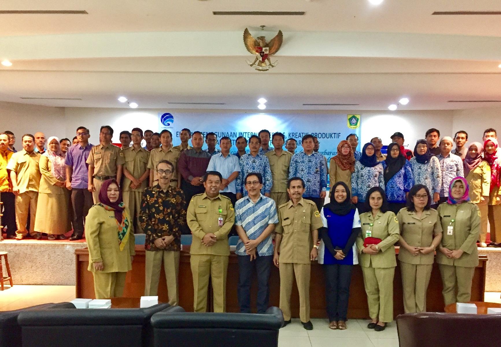 Kemkominfo dan Diskominfo Kabupaten Bogor Gelar Edukasi Penggunaan Internet