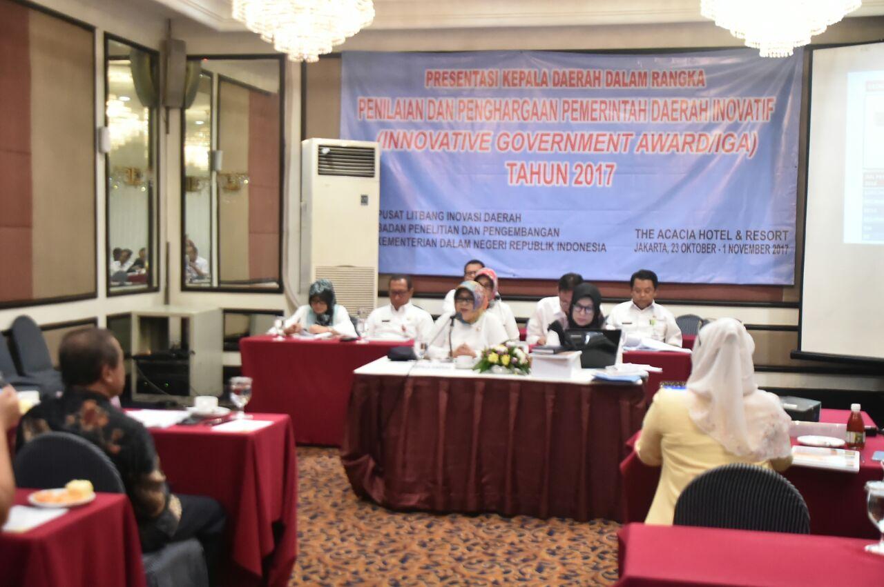Bupati Bogor Paparkan Inovasi Pemkab Bogor Untuk Raih Innovative Government Award