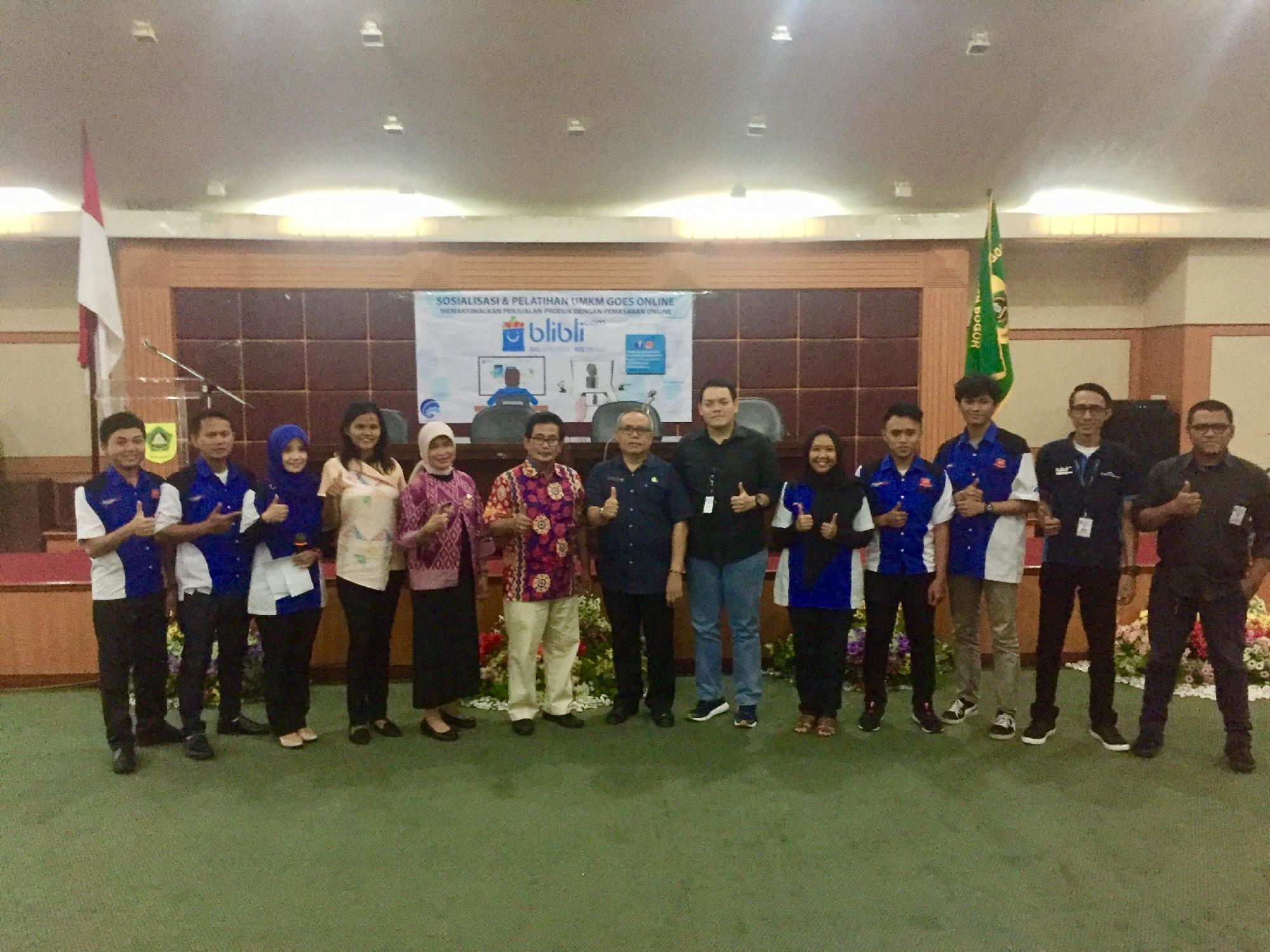 Pemkab Bogor Dukung Gerakan UMKM Go Online
