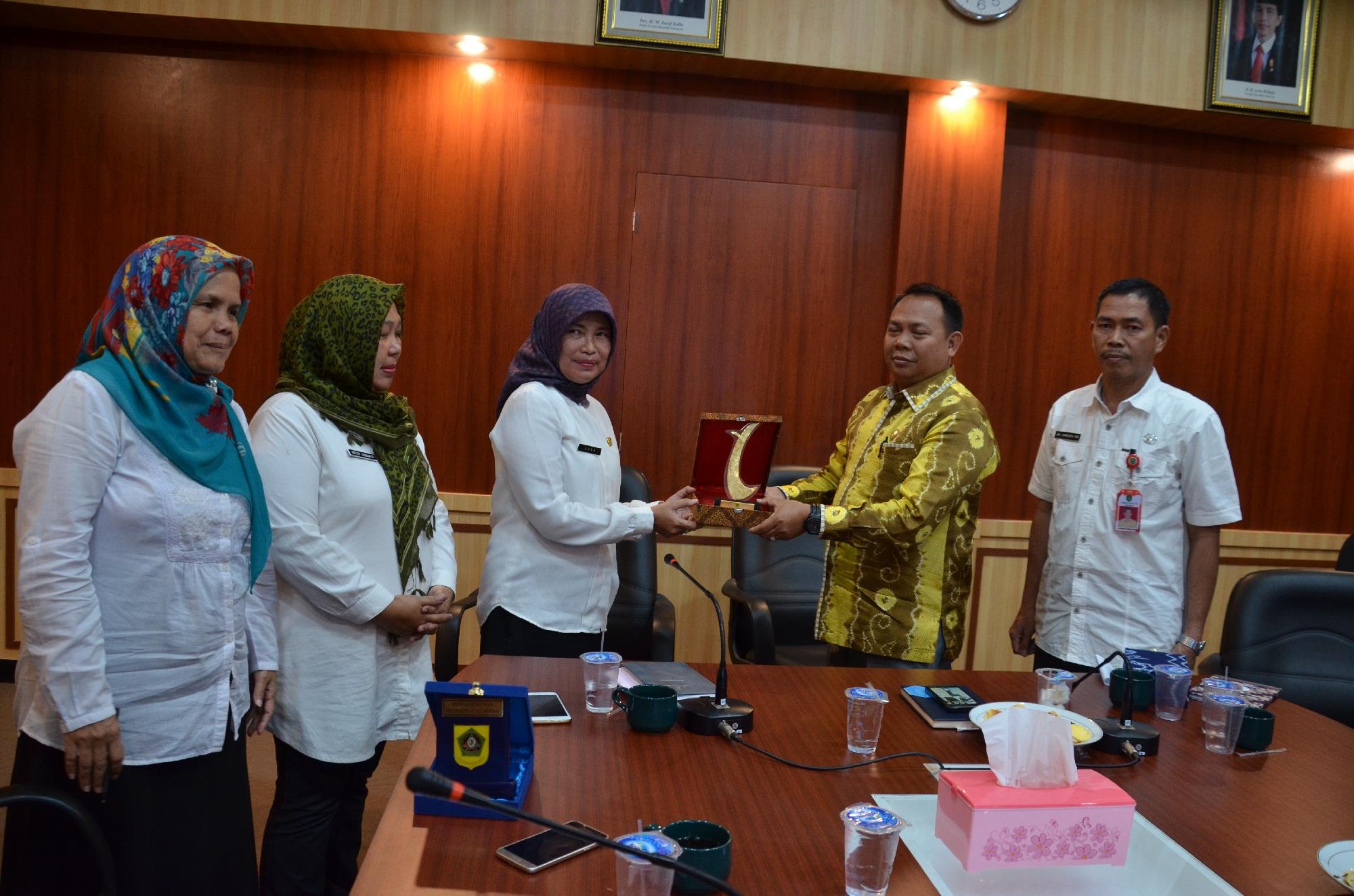 Kunjungan Kerja  DPRD dan Diskominfo Kabupaten Tapin Sumatera Selatan