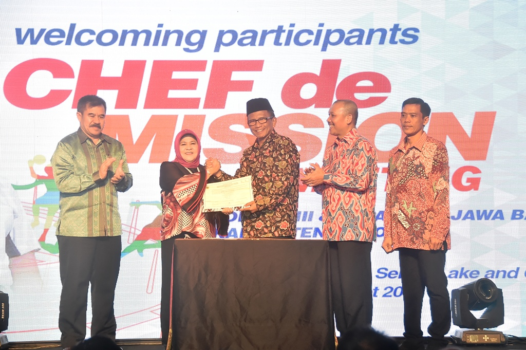 Pemerintah Kabupaten Bogor Gelar Chef De Mission Meeting Porda XIII dan Peparda V Jawa Barat Tahun 2018