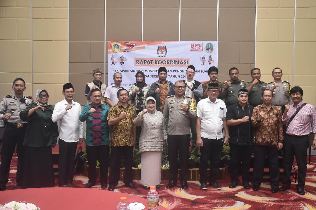 Bupati Bogor Buka Rakor kesiapan Pemungutan Suara Dan Perhitungan Suara Pilkada Serentak Tahun 2018