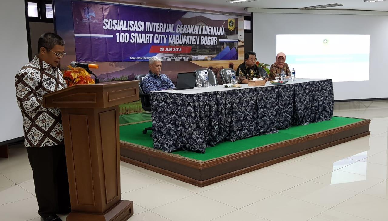 Kabupaten Bogor Menuju Kota Pintar