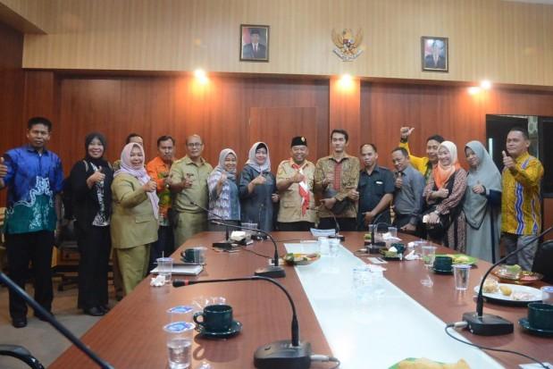 Dinas Komunikasi dan Informatika Kabupaten Bogor Terima Kunjungan DPRD Kabupaten Tabalong