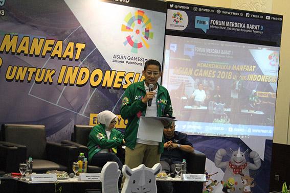 Demamkan Asian Games 2018, Kominfo Gelar DSI, Virtual Games dan Lomba Gapura