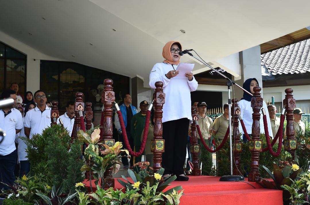 Bupati Bogor Pimpin Peringatan Haornas ke-35 Tingkat Kabupaten Bogor