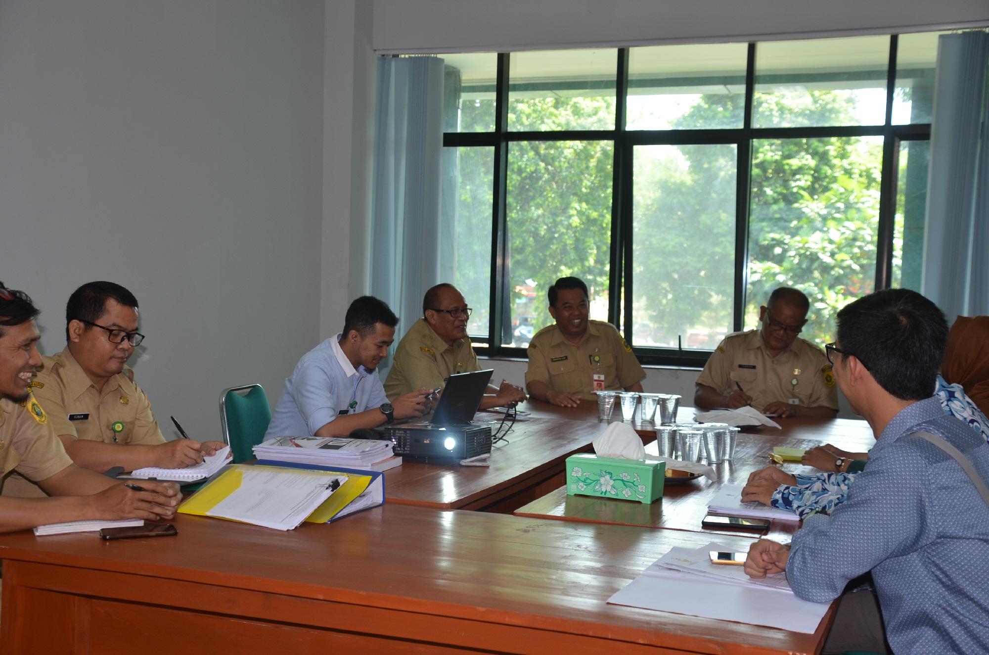 Komisi Informasi Jabar  Sambangi Diskominfo Kabupaten Bogor Lakukan Verifikasi PPID