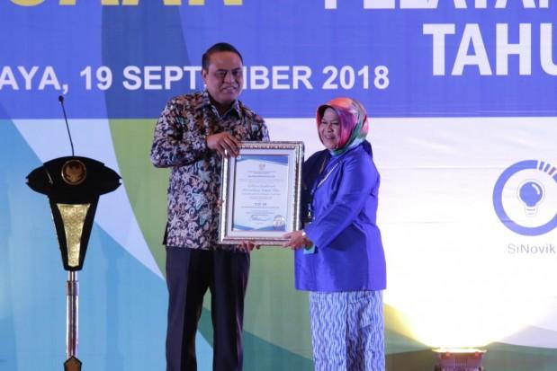 Pemkab Bogor Terima Dua Penghargaan Top 99 Inovasi Pelayanan Publik tahun 2018