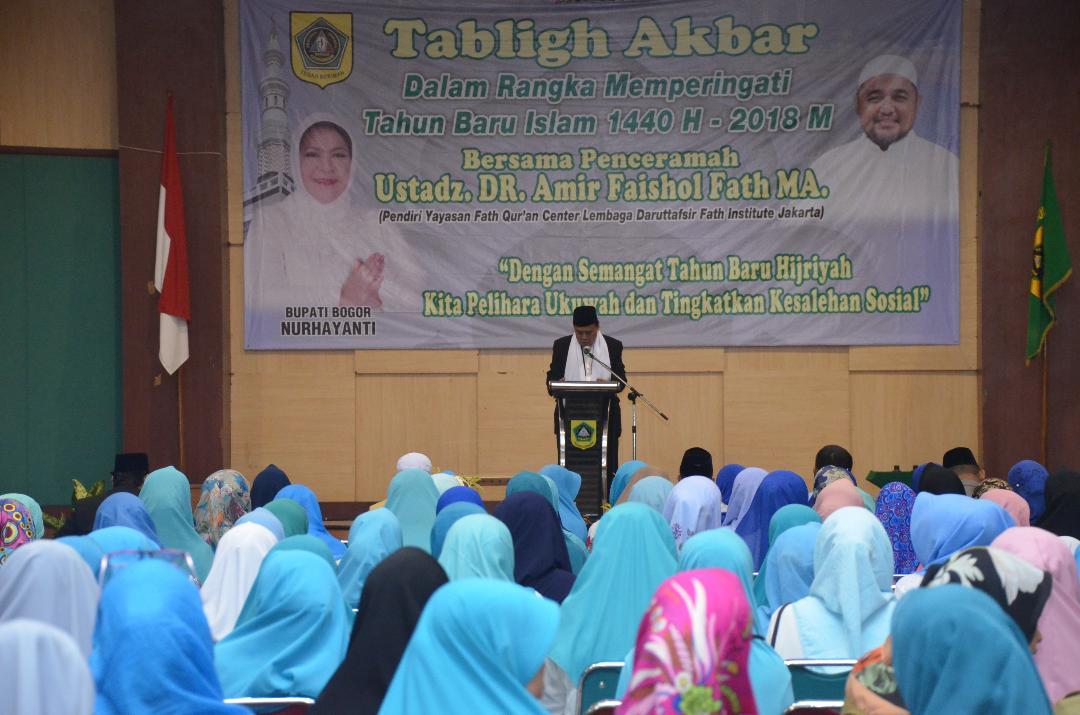 Pemkab Bogor Gelar Peringatan Tahun Baru Islam(Muharam 1440 Hijriyah/2018 Masehi)
