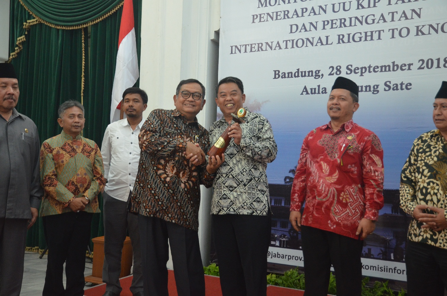 Diskominfo Kabupaten Bogor Kembali Ukir Prestasi