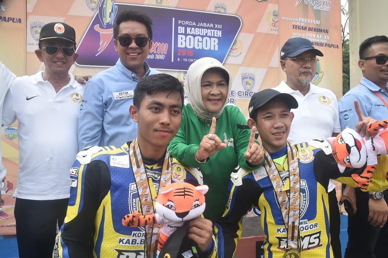 Bupati Bogor Sambangi Beberapa Cabang Olahraga Porda XIII Jawa Barat