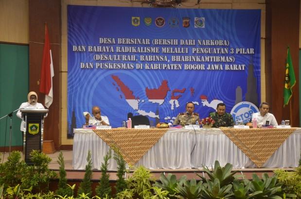"""Nurhayanti : """"Kabupaten Bogor Harus Bersih Narkoba dan Radikalisme"""""""