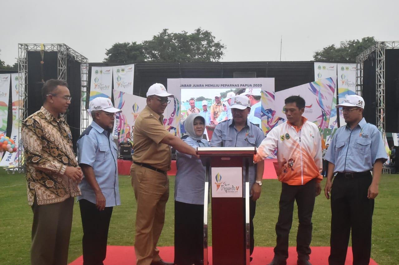 Kabupaten Bogor Kawinkan Gelar Porda XIII dan Peparda V Jawa Barat