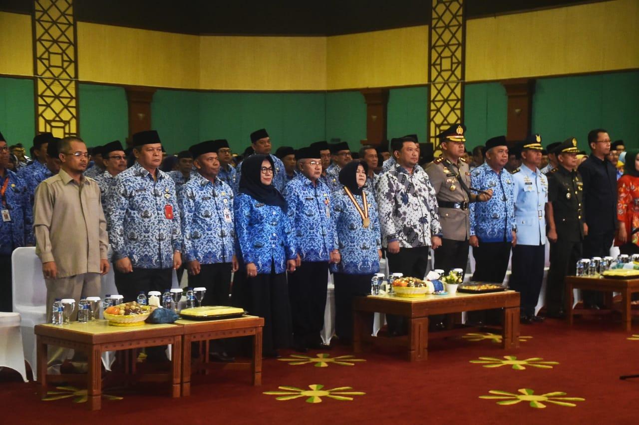 Bupati Bogor Pimpin Upacara HUT Korpri Ke 47 Tingkat Kabupaten Bogor
