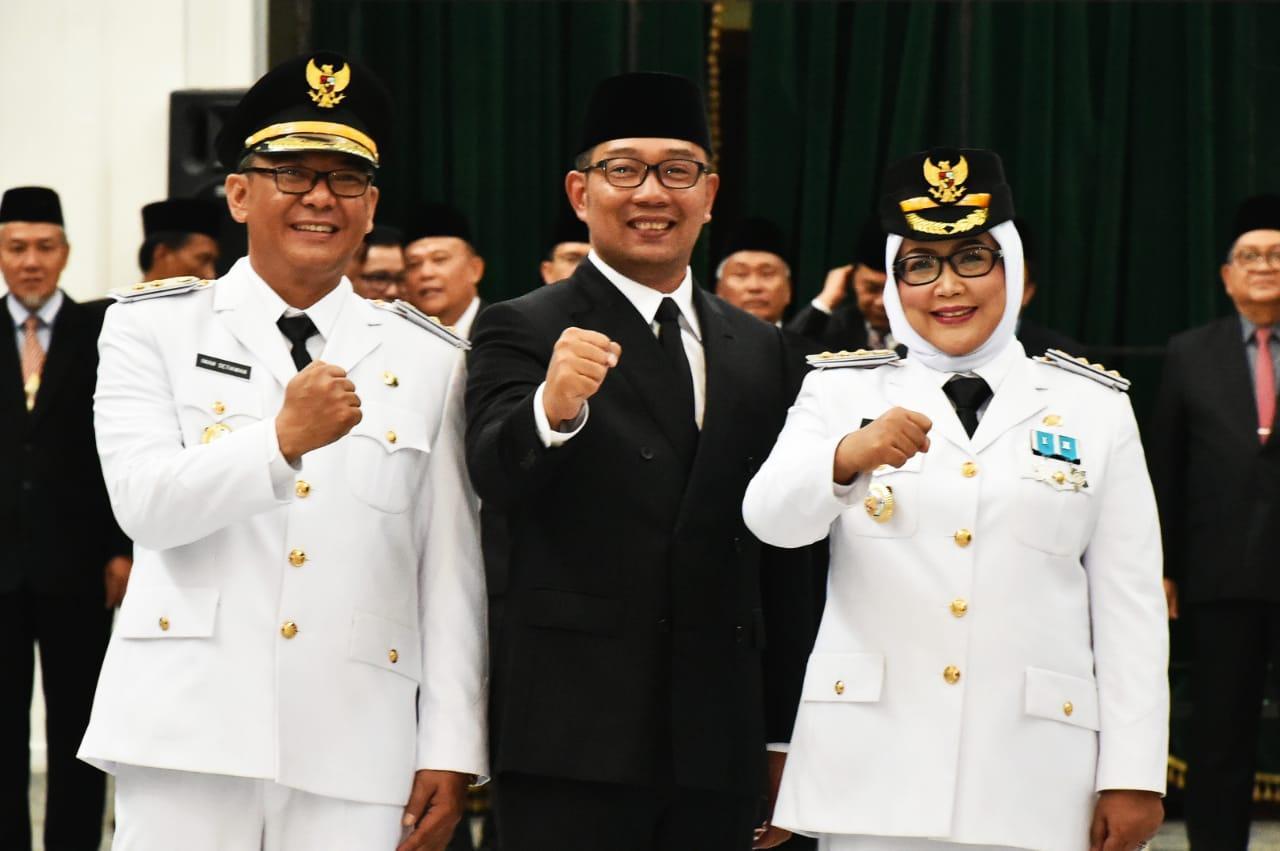 Gubernur Lantik Bupati- Wakil Bupati Bogor 2018- 2023