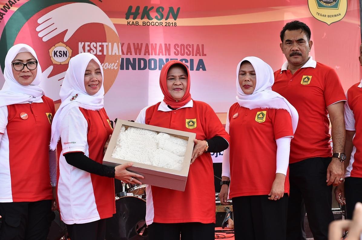 Peringatan HKSN Tingkat Kabupaten Bogor, Bupati Bogor Tekankan Pentingnya Budaya Gotong Royong