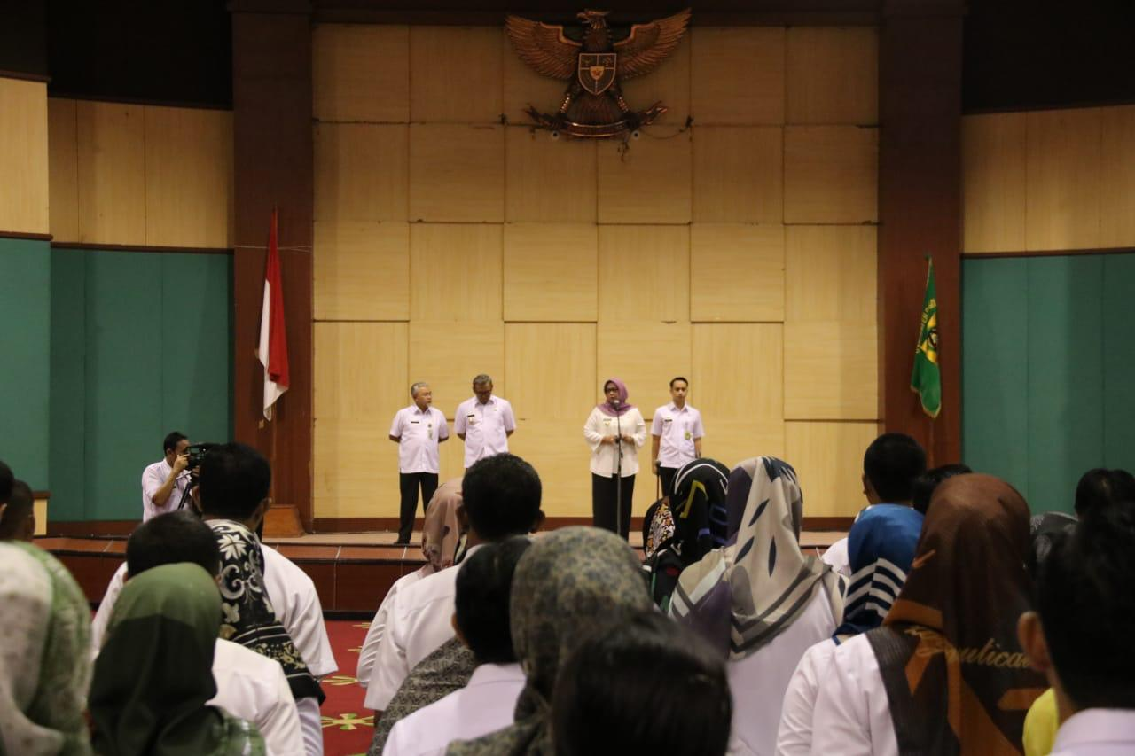 Bupati Bogor Ingin Bersinergi Dan Bekerjasama Dengan Para ASN Untuk Kemajuan Kabupaten Bogor