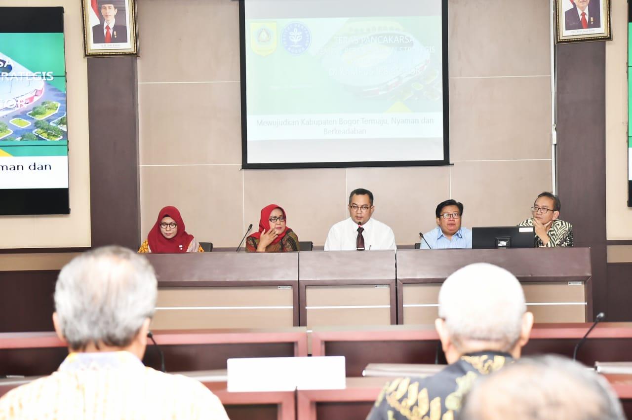 Bupati Bogor Ajak IPB University Ikut Terlibat Dalam Pembangunan di Kabupaten Bogor