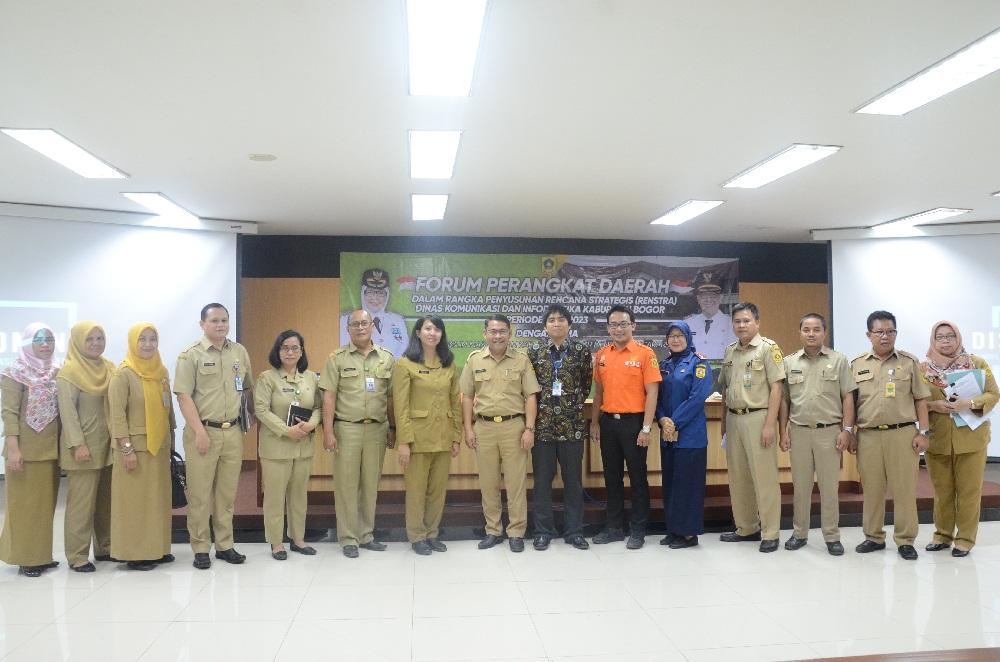 Wujudkan Bogor Maju Diskominfo Ajak ASN Kabupaten Bogor  Sinergi Bangun Smart City