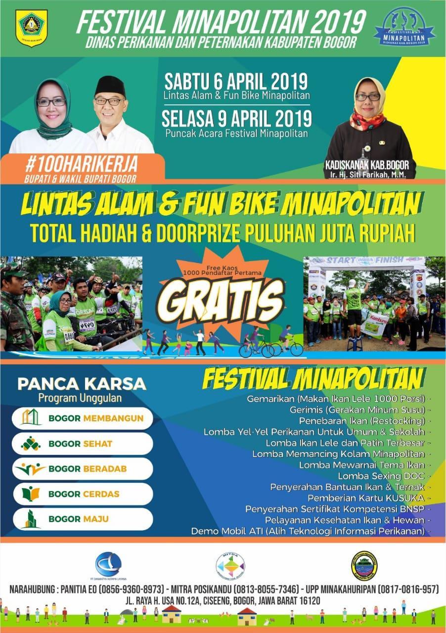 Pemerintah Kabupaten Bogor Gelar Festival Minapolitan