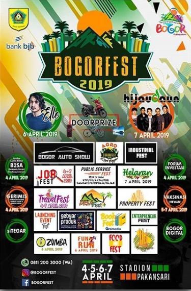 Pemkab Bogor Gelar Bogor Fest 2019