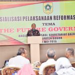 Wabup Buka Sosialisasi Pelaksanaan Reformasi Birokrasi