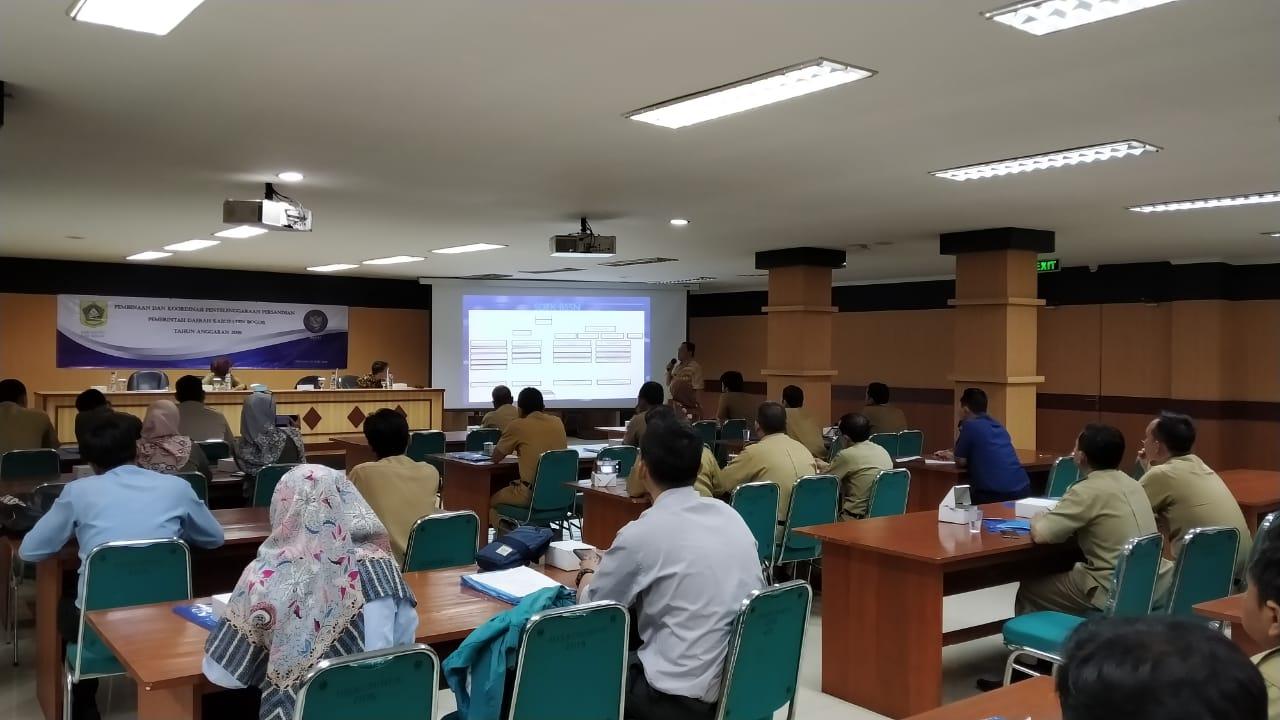 Tingginya Serangan Cyber, Diskominfo Kabupaten Bogor  Gandeng BSSN RI Lakukan Keamanan Data Informasi