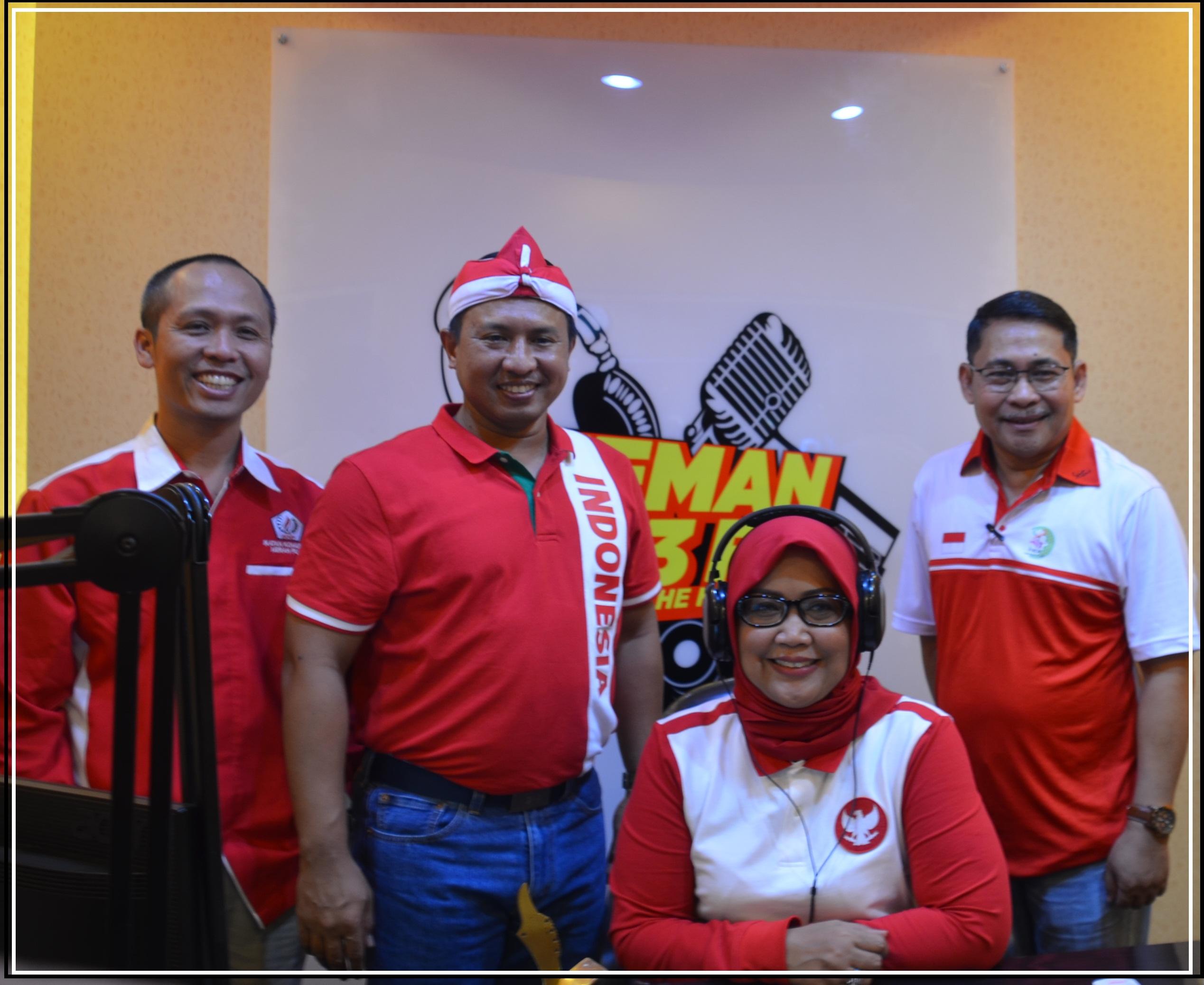 Bupati Bogor Ade Yasin Sapa Warga Lewat Radio Teman 95,3 FM