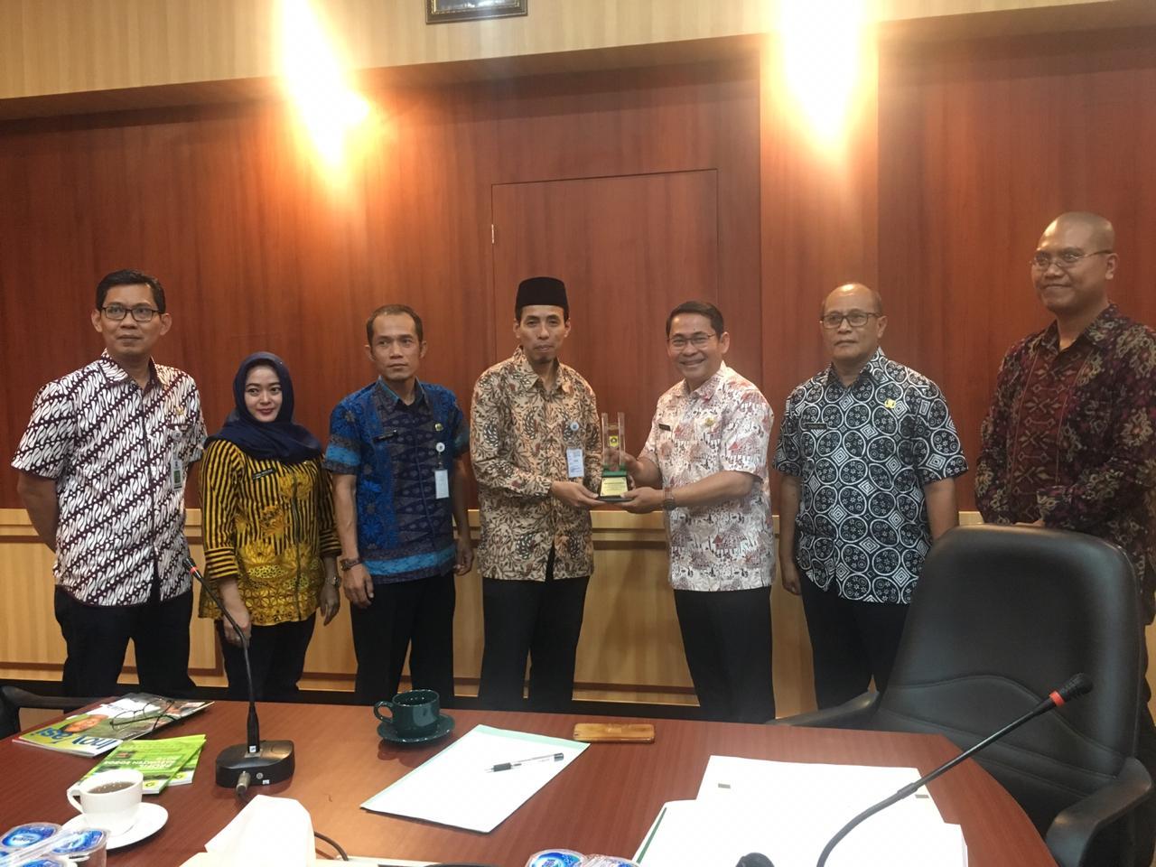 Diskominfo Kabupaten Serang Dalami PPID Kabupaten Bogor