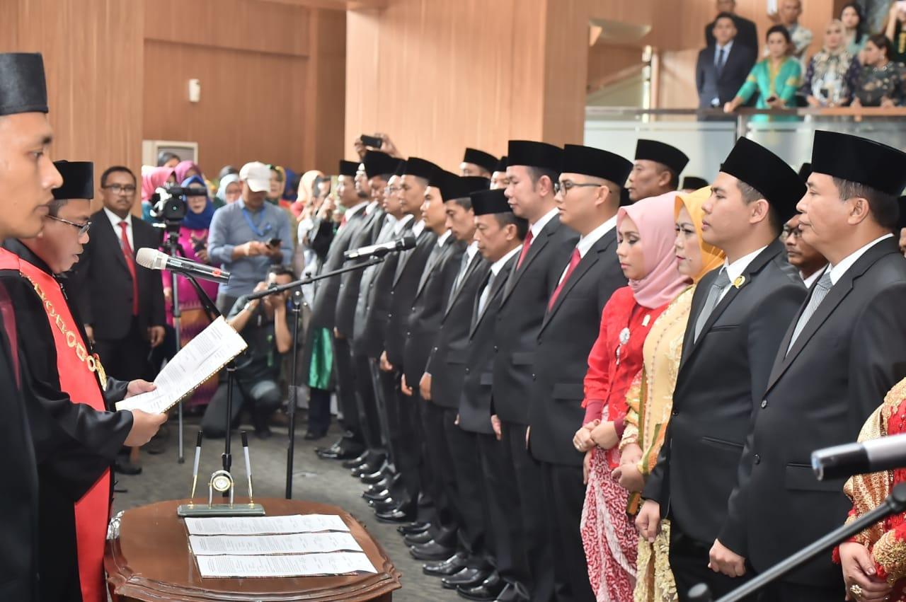 55 Anggota DPRD Kabupaten Bogor Terpilih Resmi Menjabat