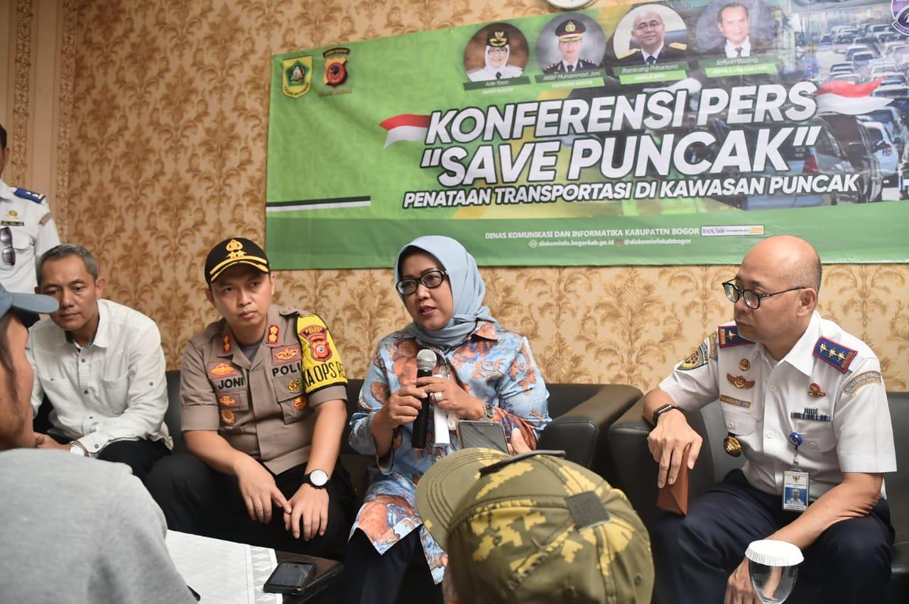 Bupati Bogor dan Kepala BPTJ Tinjau Kesiapan Sistem MRLL 2-1 di Wilayah Puncak