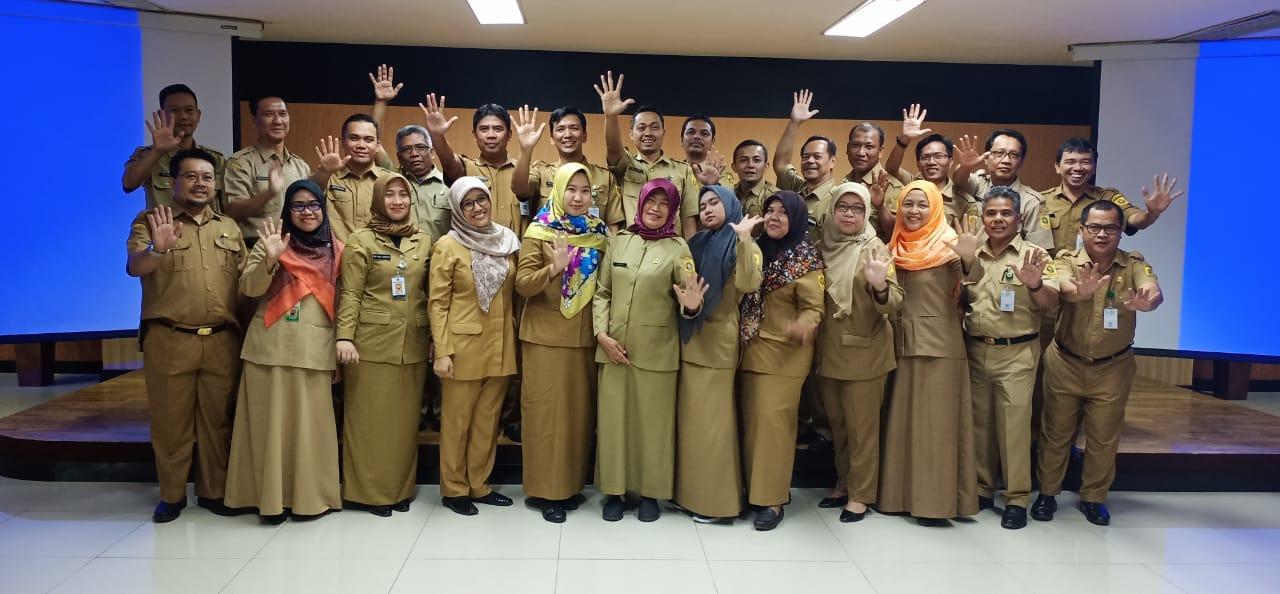 Diskominfo Kabupaten Bogor Jadi Lokus Survey Reformasi Birokrasi Berbasis Online