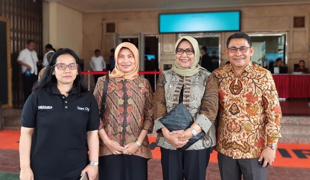 Hadiri Exhibition, Evaluation & Presendential Lecture Gerakan Menuju 100 Smart City , Bupati Bogor Ade Yasin Tegaskan Kabupaten Bogor Segera terapkan Smart City