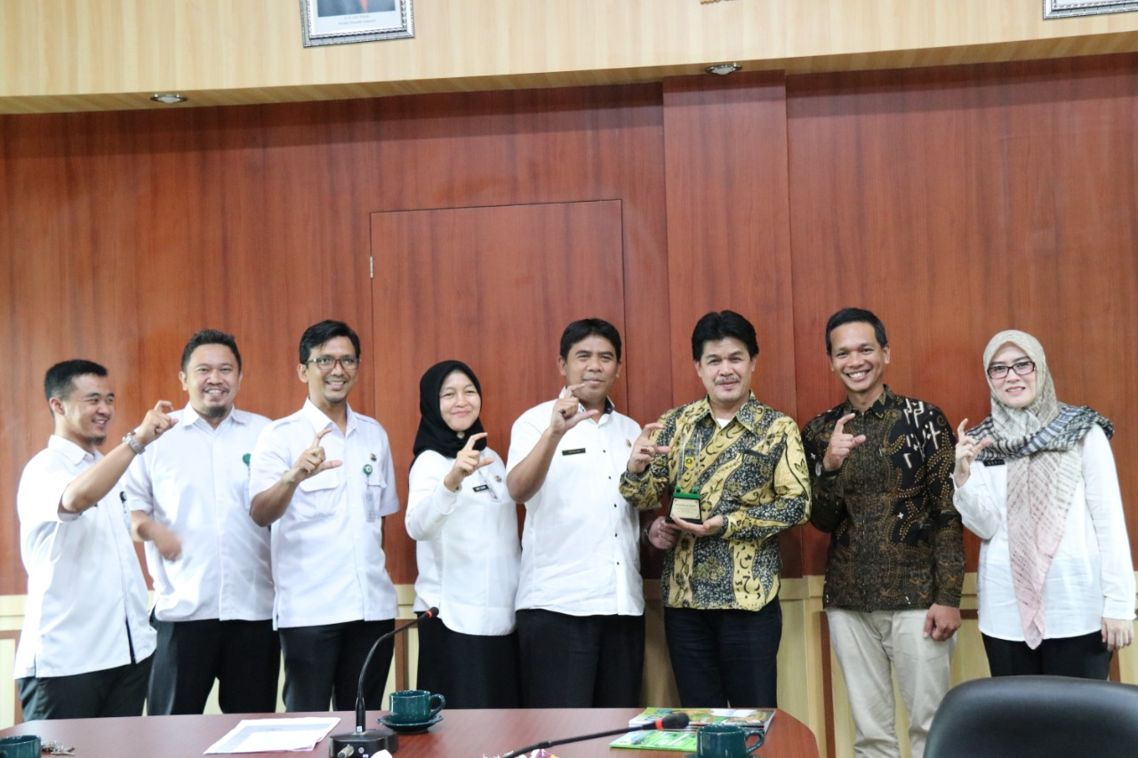 Akan Terapkan Digitalisasi Pemkab Rejang Lebong Kaji Banding  Ke Diskominfo Kabupaten Bogor