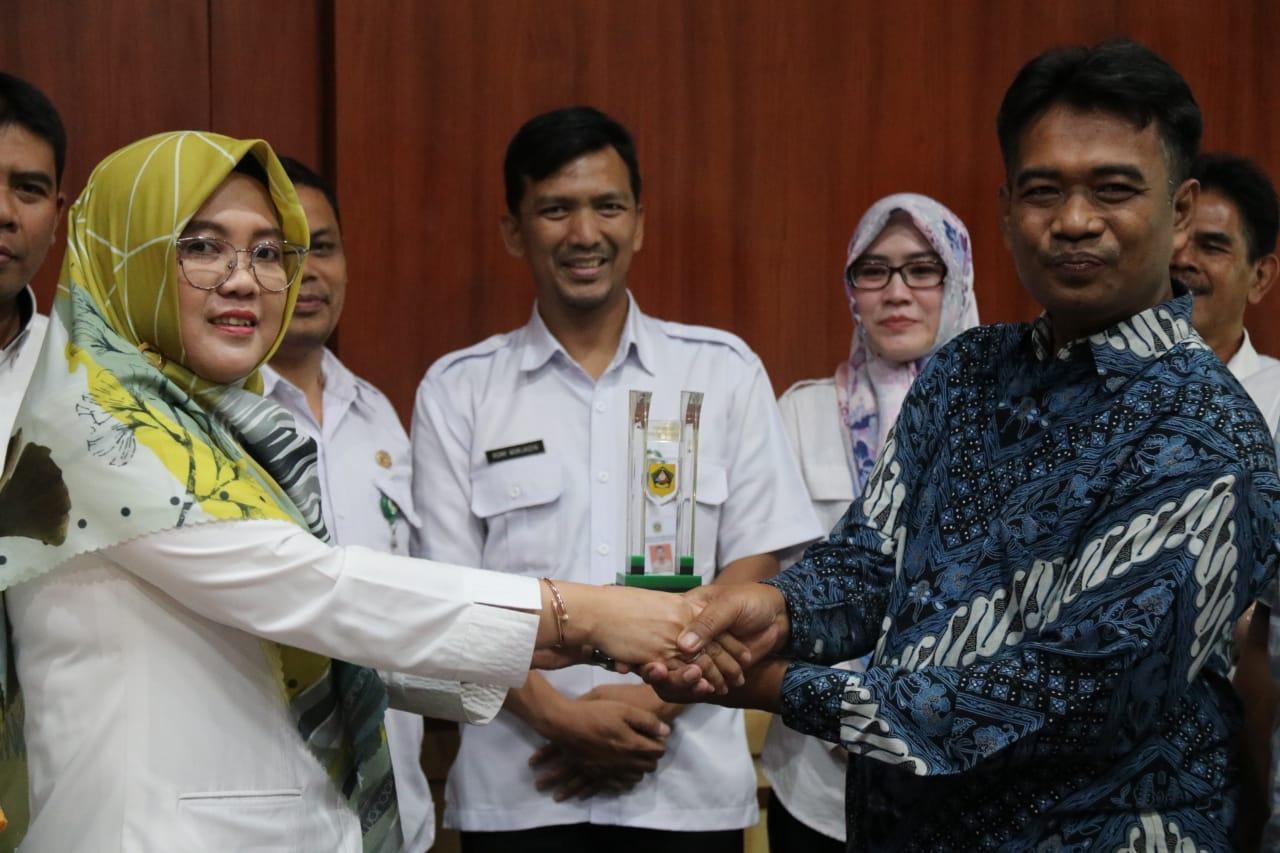 Komisi I DPRD Kabupaten Lebak Sharing Pengelolaan Informasi  ke Diskominfo Kabupaten Bogor