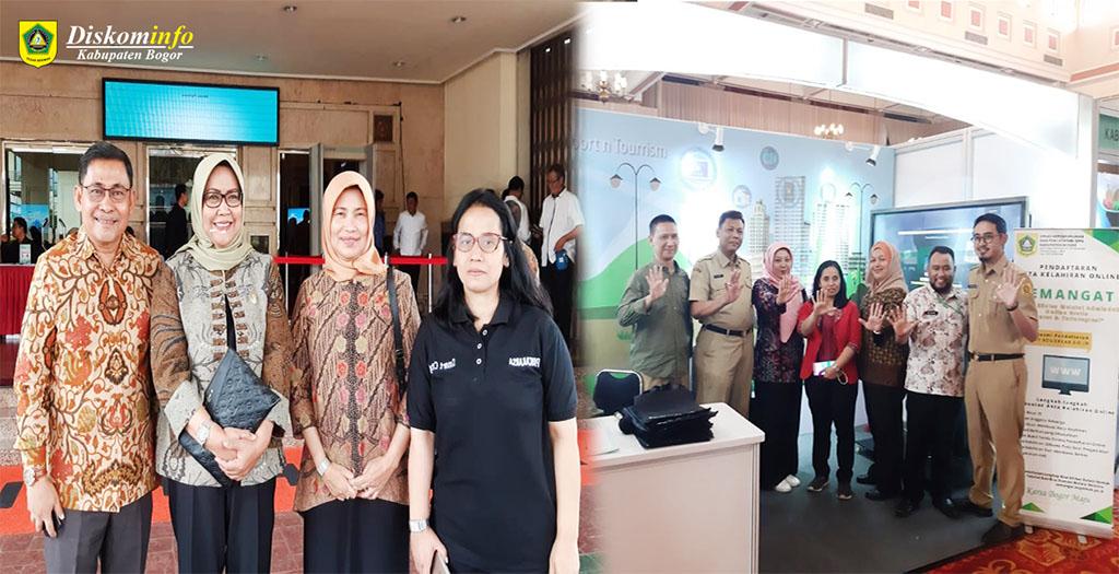 Terpilih Sebagai Daerah Gerakan Menuju 100 Smart City Kabupaten Bogor Gelar Pameran Smart City di Ibu Kota Jakarta