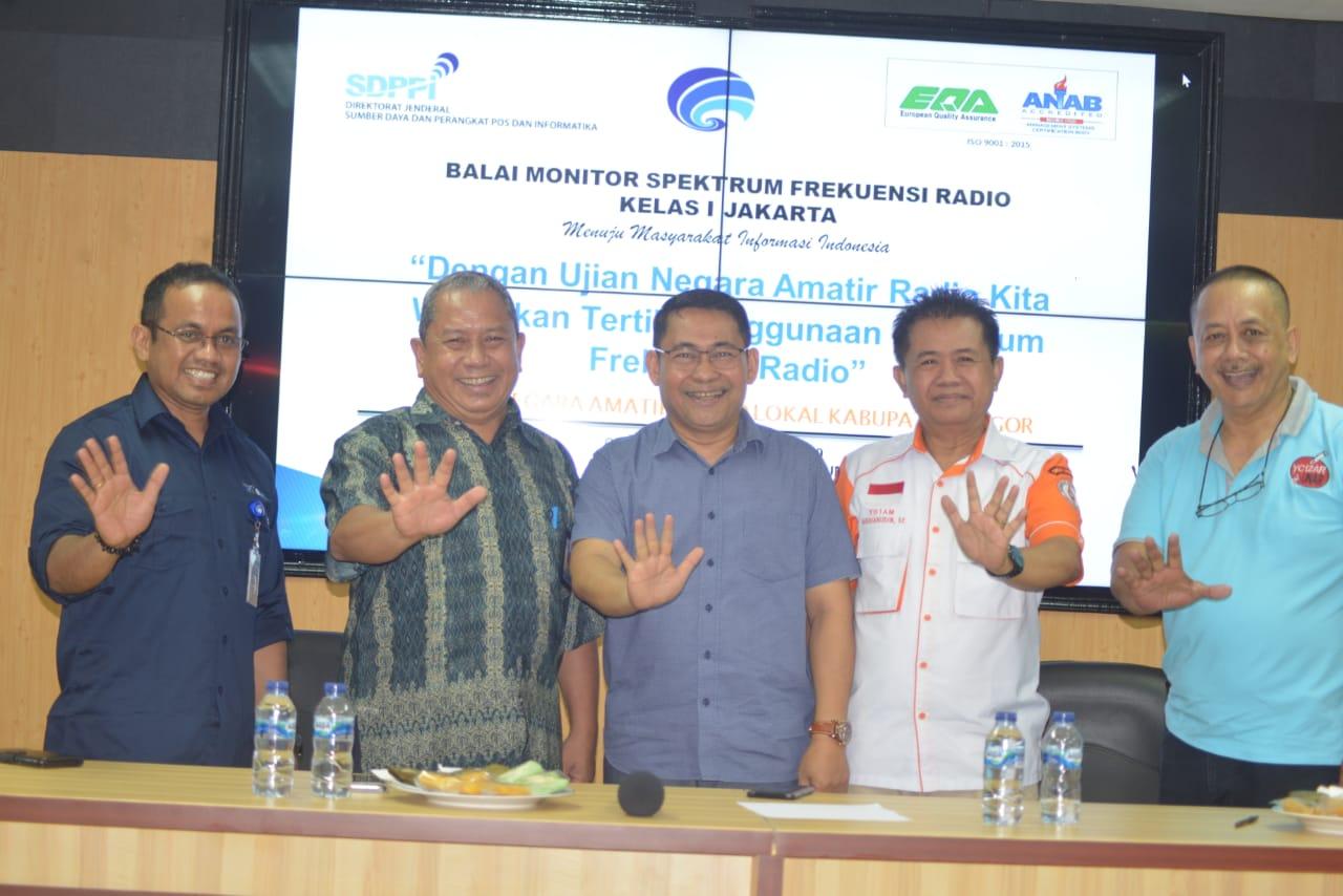 400 Anggota ORARI Se-Jabodetabek Ikuti Ujian Nasional Amatir Radio Untuk Dapatkan Izin Frekuensi Siaran