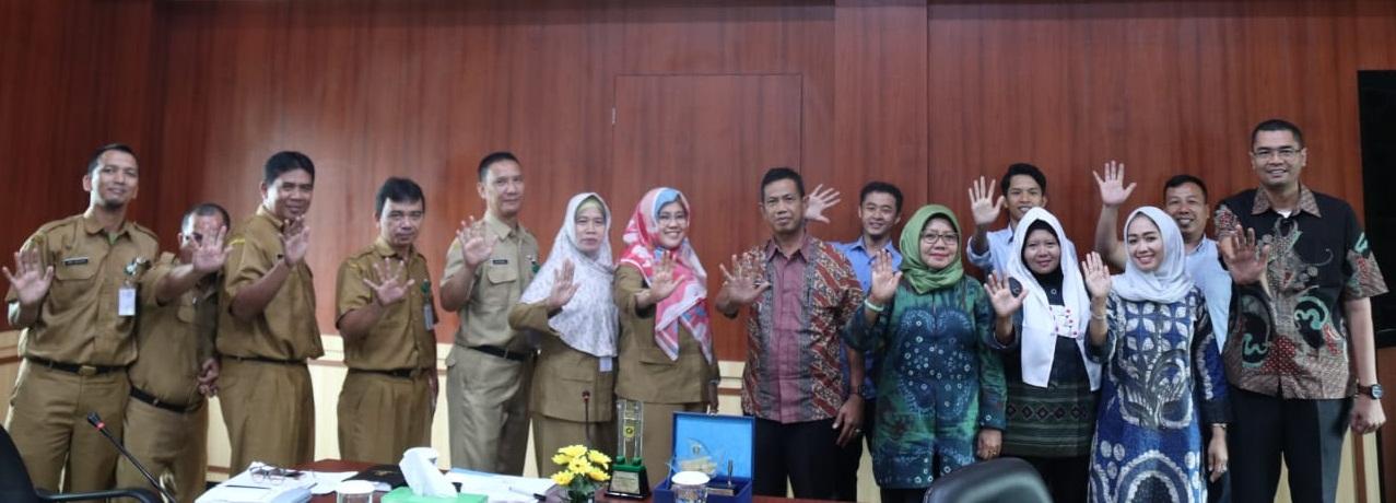 Diskominfo Kabupaten OKI Kaji Banding Terkait Optimalisasi Kerjasama dengan Media Massa Ke Diskominfo Kabupaten Bogor