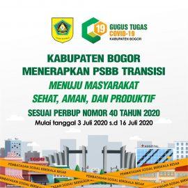 Rilis Resmi Gugus Tugas Penanganan Covid-19 Kabupaten Bogor