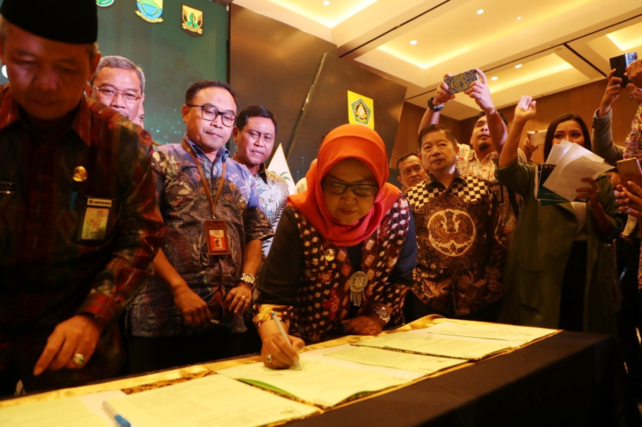 Bupati Bogor Buka Borderline Economic Summit 2019