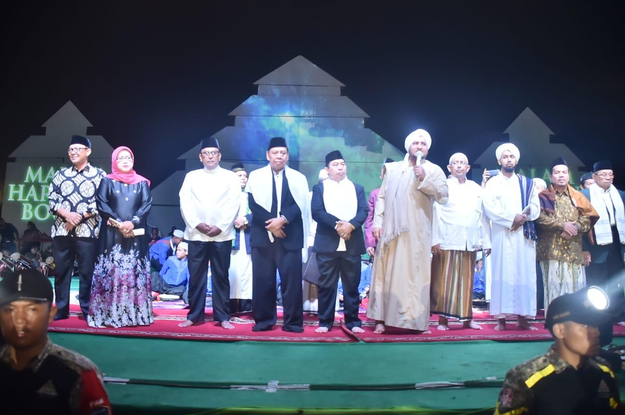 Bupati dan Wakil Bupati Bogor Gelar Doa Bersama Dengan Masyarakat Kab. Bogor