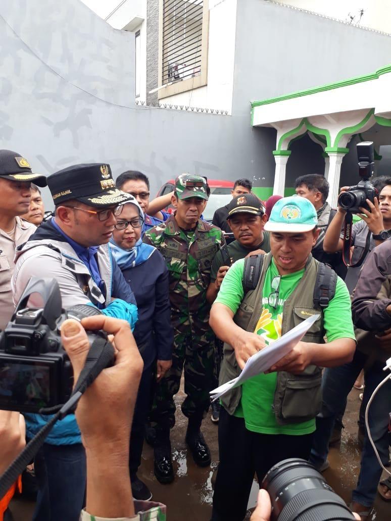 Gubernur Jawa Barat : Hari Ini Fokus Tanggap Darurat