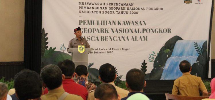 Sekda Kabupaten Bogor Buka Musrembang Geopark Nasional Pongkor Tahun 2020