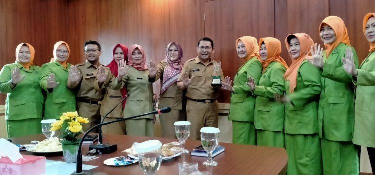 Kunjungan Kerja Organisasi Perempuan GOW Kabupaten Bogor