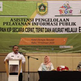 Perkuat Pelayanan Informasi Diskominfo  Gandeng Pengelola PPID Se-Kabupaten Bogor Terapkan Aplikasi E-PPID