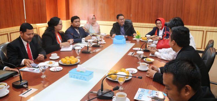 Tingkatkan Pelayanan Sektor Hukum Kepada Masyarakat DPC Peradi Kabupaten Bogor Lakukan Audiensi Ke Diskominfo Kabupaten Bogor