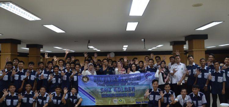Tingkatkan Kemampuan IT, PuluhanSiswa SMK Golden Rancabungur  Belajar IT ke Diskominfo Kabupaten Bogor