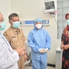 Bupati Cek RSUD Cibinong Terkait Persiapan Penanganan Virus Corona